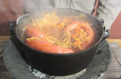 Cabbage'n Sausage