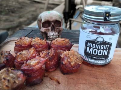 Midnight Glaze - Schweinemedaillons vom Grill